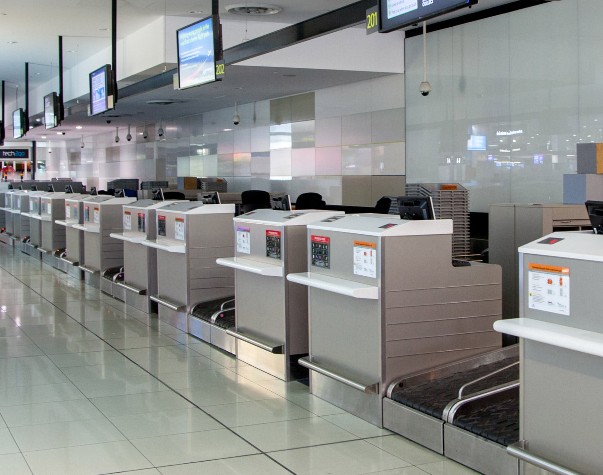 Melbourne Airport Selects UFL Counters